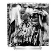 Pow Wow Beauty Of The Past Shower Curtain