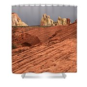 Beauty Of The Sandstone Landscape Shower Curtain