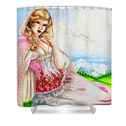 Beauty Of The View Shower Curtain