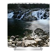 Beauty Of The Washougal River Shower Curtain