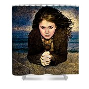 Beauty On The Beach Shower Curtain