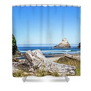 Beauty On The Pacific Coast Shower Curtain