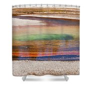 Beauty Pool Shower Curtain
