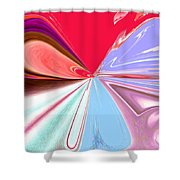 Beauty Shock, Wings Of Imagination Shower Curtain