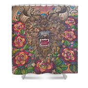 Beauty Within The Beast Shower Curtain