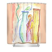 Beauty's Mystery Shower Curtain