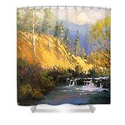 Beaver Dam Shower Curtain