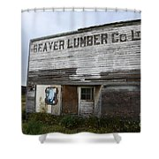 Beaver Lumber Company Ltd Robsart Shower Curtain