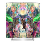 Beaver Moon Shower Curtain