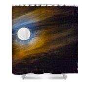 Beaver Moon Shower Curtain