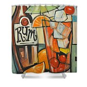 Bebida De Turista Shower Curtain