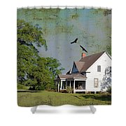 Because We Can Fly Together Shower Curtain
