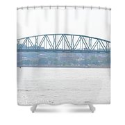 Beckey Bridge Shower Curtain