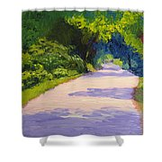 Beckoning Trail Shower Curtain