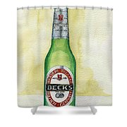 Becks Shower Curtain