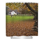 Becky Cable House  Shower Curtain