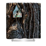 Bed And Breakfast Shower Curtain