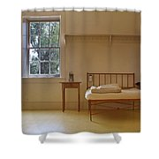Bed - Infirmary - Fort Larned - Kansas Shower Curtain