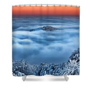 Bed Of Clouds Shower Curtain