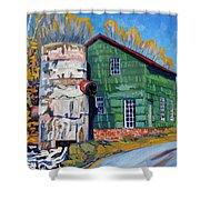Bedford Mills Shower Curtain