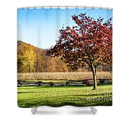 Bedford, Pa Fall Landscape Shower Curtain