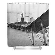 Bedloe's Island Shower Curtain