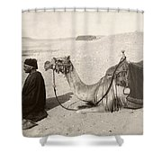 Bedouin At Prayer Shower Curtain