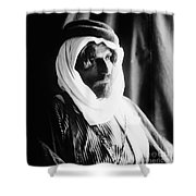 Bedouin Man, C1910 Shower Curtain