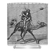 Bedouin Messenger Shower Curtain
