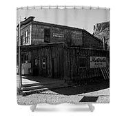 Bedrock Store 1881 Shower Curtain
