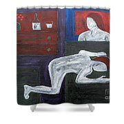 Bedside Vigil Shower Curtain