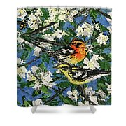 Bee Haven Shower Curtain
