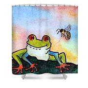 Bee Hoppy Shower Curtain