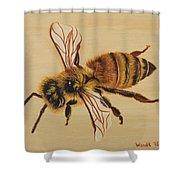Bee Ix Delphine Shower Curtain