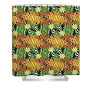 Bee Kind  Morph#2 Shower Curtain