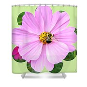 Bee-line 1 Shower Curtain