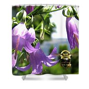 Bee-line 5 Shower Curtain