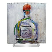 Bee Patron Shower Curtain by Denise H Cooperman