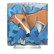 Beebshead Shower Curtain