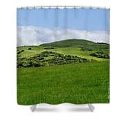Beecraigs Hills. Shower Curtain