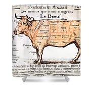 Beef Shower Curtain
