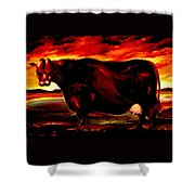 Beef Holocaust IIi Shower Curtain