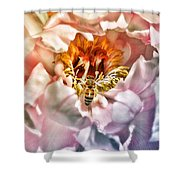 Beekeeper Shower Curtain