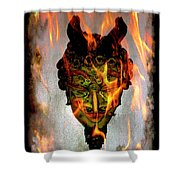 Beelzebub Iv Shower Curtain