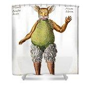 Beelzebub, Or The Devil, 1775 Shower Curtain