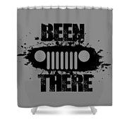 Been There In A Jeep Shower Curtain