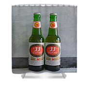 Beer 33 Shower Curtain