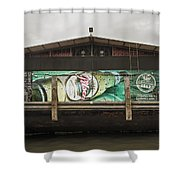 Beer Barge - Iquitos, Peru Shower Curtain