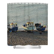 Beer - East Devon. Uk Shower Curtain