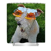 Beer Goggles Shower Curtain